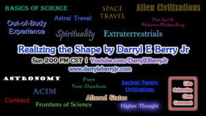 Realizing the Shape Show by Darryl E Berry Jr